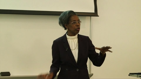 Thumbnail for entry HCC Economic Program presents: Dr. Sylvia Bennet