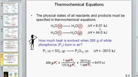 Thumbnail for entry chapter 6 enthalpy of reactions direct method of calculation