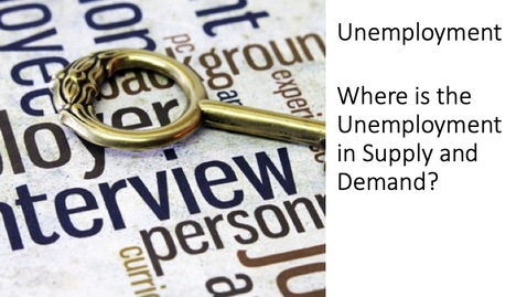 Thumbnail for entry Unemployment - Where is the Unemployment in Supply and Demand?