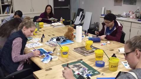 Thumbnail for entry Joe Peña Workshop Time Lapse Part Two