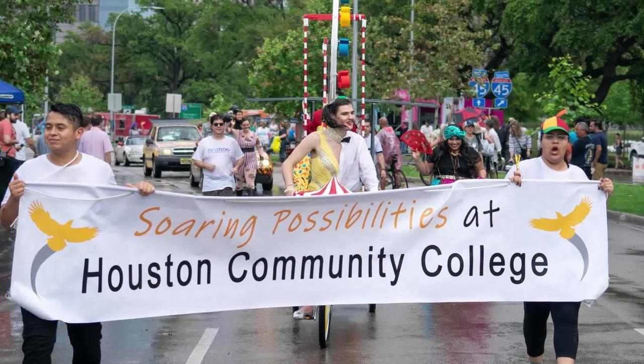 HCC Art Car Bikes Take Grand Trophy in 2019 Parade