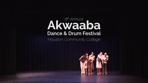 Thumbnail for entry 8th Annual Akwaaba Dance & Drum Festival: Closing Performance