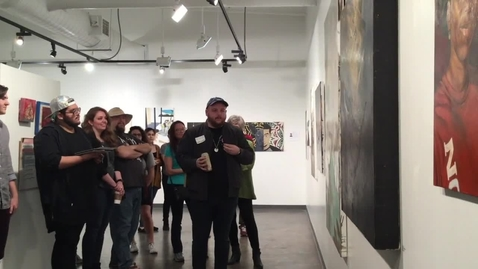 Thumbnail for entry Perry Chandler Trajectories Seen Artist Talk
