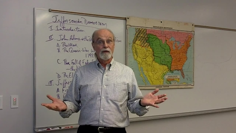 Thumbnail for entry Wilcox Lecture Adams Foreign Policy Part II