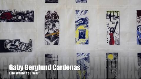 Thumbnail for entry Gaby Berglund Cardenas Artist Talk | PrintMatters Exhibition