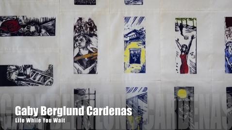 Thumbnail for entry Gaby Berglund Cardenas Artist Talk | PrintMatters Exhibition