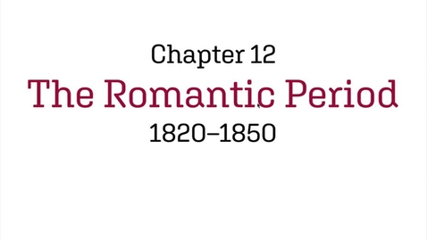 Thumbnail for entry Fashion History / The Romantic Period / 1820-1850