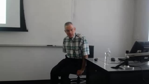 Thumbnail for entry Affordable Care Act: Professor Tannahill's Lecture of May 3, 2016