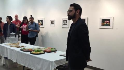 Thumbnail for entry Joe Peña Artist Talk