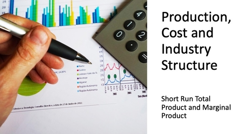 Thumbnail for entry Costs, Production and Industry Structure - Short Run TP and MP
