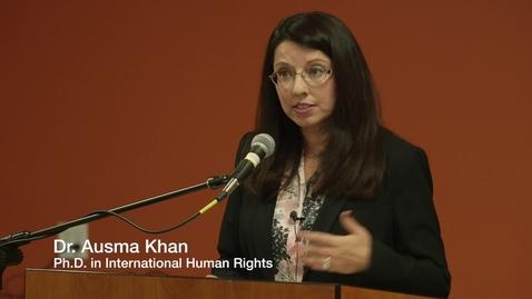 Thumbnail for entry Dr. Ausma Khan: The Unquiet Dead