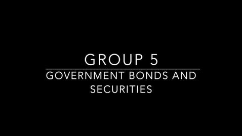 Thumbnail for entry Government Bonds and Securities