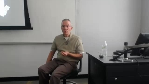 Thumbnail for entry Counties I: Professor Tannahill's Lecture of March 31, 2016