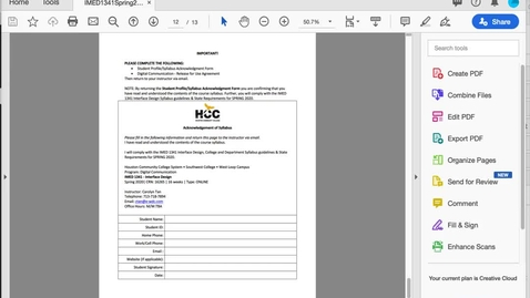 Thumbnail for entry How-to Edit Acrobat PDF And Combine Multiple Files