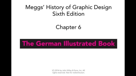 Thumbnail for entry Chapter 6 MEGGS Lecture