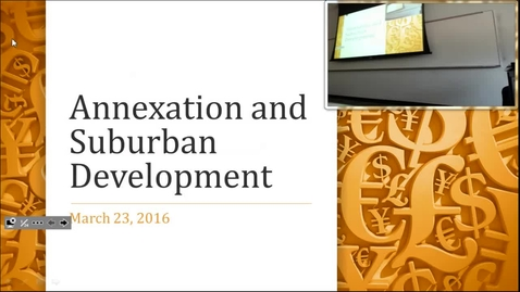 Thumbnail for entry Annexation: Professor Tannahill's Lecture of March 28, 2017