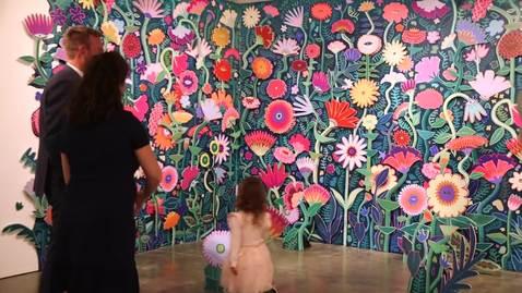 Thumbnail for entry Cosmic Garden   Celan Bouillet Exhibition