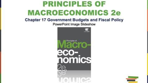Thumbnail for entry Government Budgets and Fiscal Policy