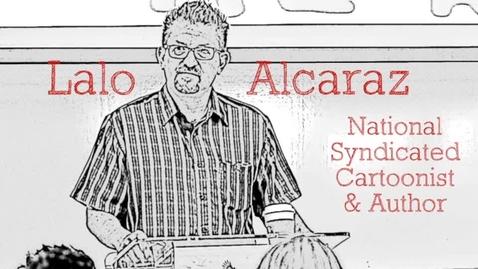 Thumbnail for entry Lalo Alcaraz