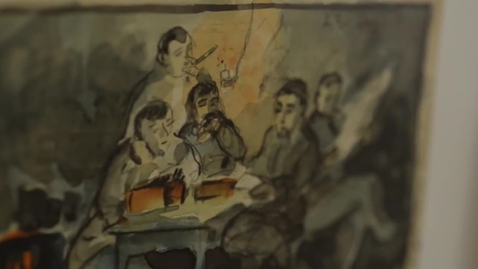 Thumbnail for entry Postcards From The Trenches: Germans and Americans Visualize The Great War