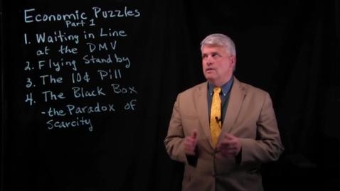 Thumbnail for entry Economic Puzzles - Part 1.mov