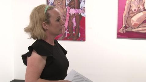 Thumbnail for entry Saralene Tapley Artist Talk