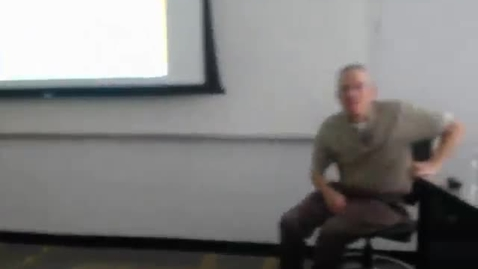Thumbnail for entry Counties II: Professor Tannahill's Lecture of March 31, 2016