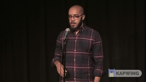 """Thumbnail for entry Clint Smith performs """" History Reconsidered"""""""