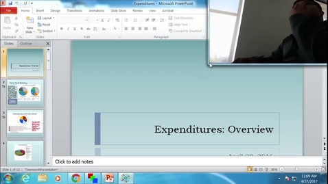 Thumbnail for entry Expenditures: Professor Tannahill's Lecture of April 27, 2017