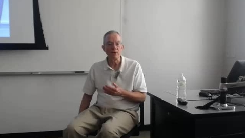 Thumbnail for entry Texas Budget Process: Professor Tannahill's Lecture of April 28, 2016