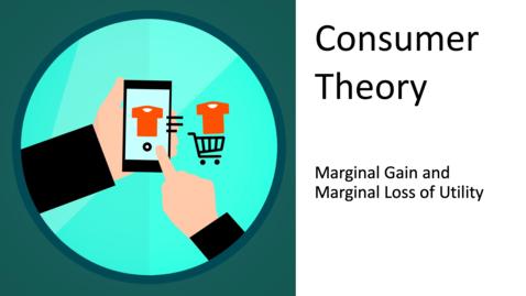 Thumbnail for entry Consumer Choice - Marginal Gain and Marginal Loss of Utility
