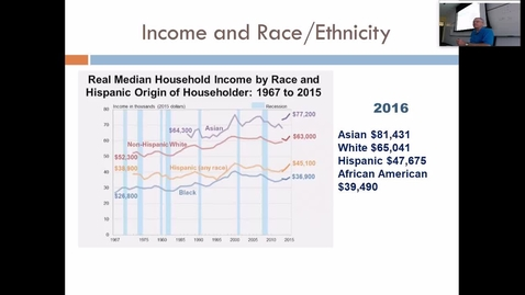 Thumbnail for entry Wealth and Poverty: Professor Tannahill's Lecture of September 19, 2017