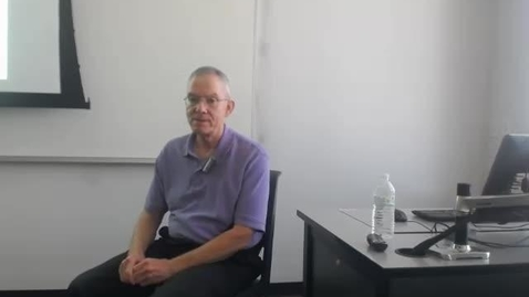 Thumbnail for entry Criminal Prosecution Process: Professor Tannahill's Lecture of May 5, 2016