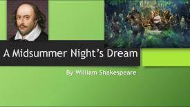 Thumbnail for entry A Midsummer Nights Dream PPT for Movie