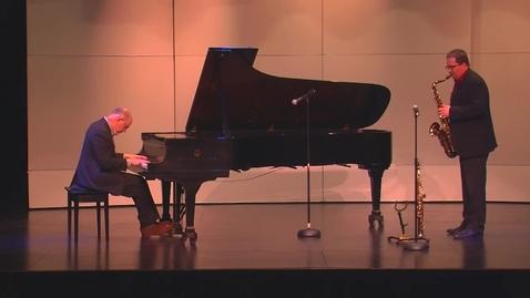 Thumbnail for entry Faculty Jazz Concert | Witt & LoCascio