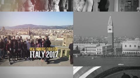 Thumbnail for entry HCC Honors Study Abroad 2017