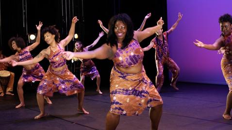 Thumbnail for entry HCC African Dance & Drum Ensemble