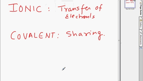 Thumbnail for entry November05 0924part 1 ionic and covalent bonding concept.avi