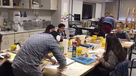 Thumbnail for entry Joe Peña Workshop Time Lapse Part One