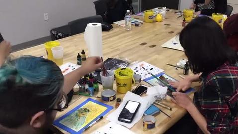 Thumbnail for entry Joe Peña Workshop Time Lapse Part Four