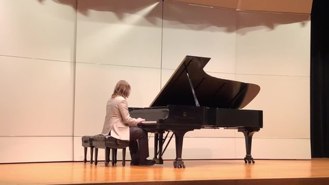 Thumbnail for entry Student Piano Recital Feb. 2018