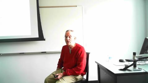 Thumbnail for entry Texas History II: Professor Tannahill's Lecture of January 19, 2016