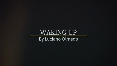 Thumbnail for entry Jorge Olmedo- Waking Up