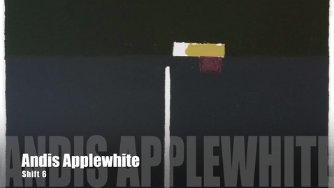 Thumbnail for entry Andis Applewhite Artist Talk | PrintMatters Exhibition