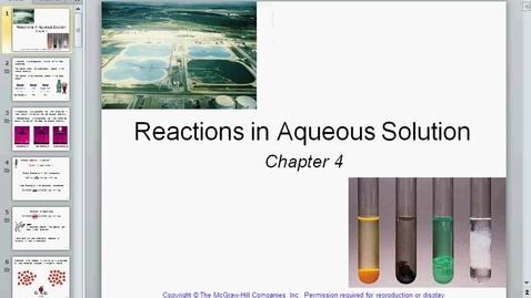 Thumbnail for entry February25 chapter 4 partprecipitation reactions