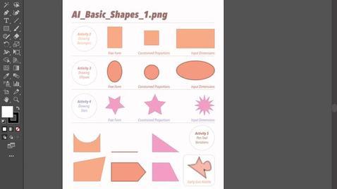 Thumbnail for entry ACS-S20 - AI Basic Shapes 1 Step 2