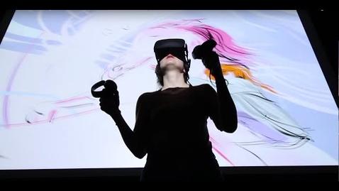 Thumbnail for entry Saschka Unseld Oculus Story Studio Quill VR - SUNDANCE DEMO