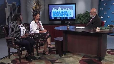 Thumbnail for entry Dialogue Houston: Gaytri Kapoor and Dr. Vinette Meikle Harris talk about the Be the Match donor program