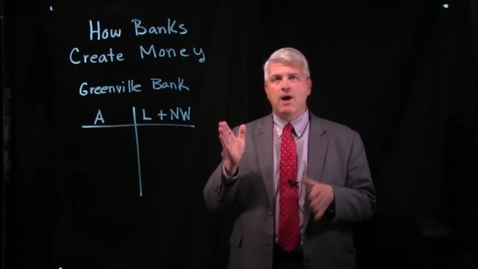 Thumbnail for entry How Banks Create Money