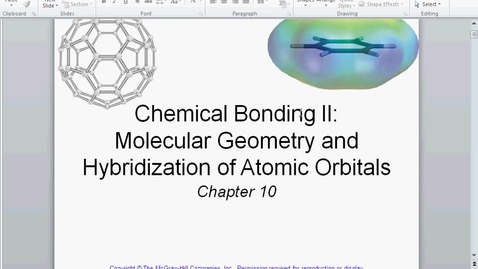 Thumbnail for entry lEWIS STRUCTURES GEOMETRY AND HYBRIDIZATION